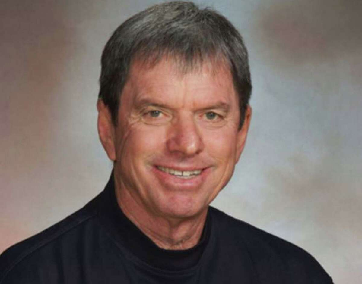 Former Bellarmine swim coach Larry Rogers, who died in his sleep March 31 at age 74.