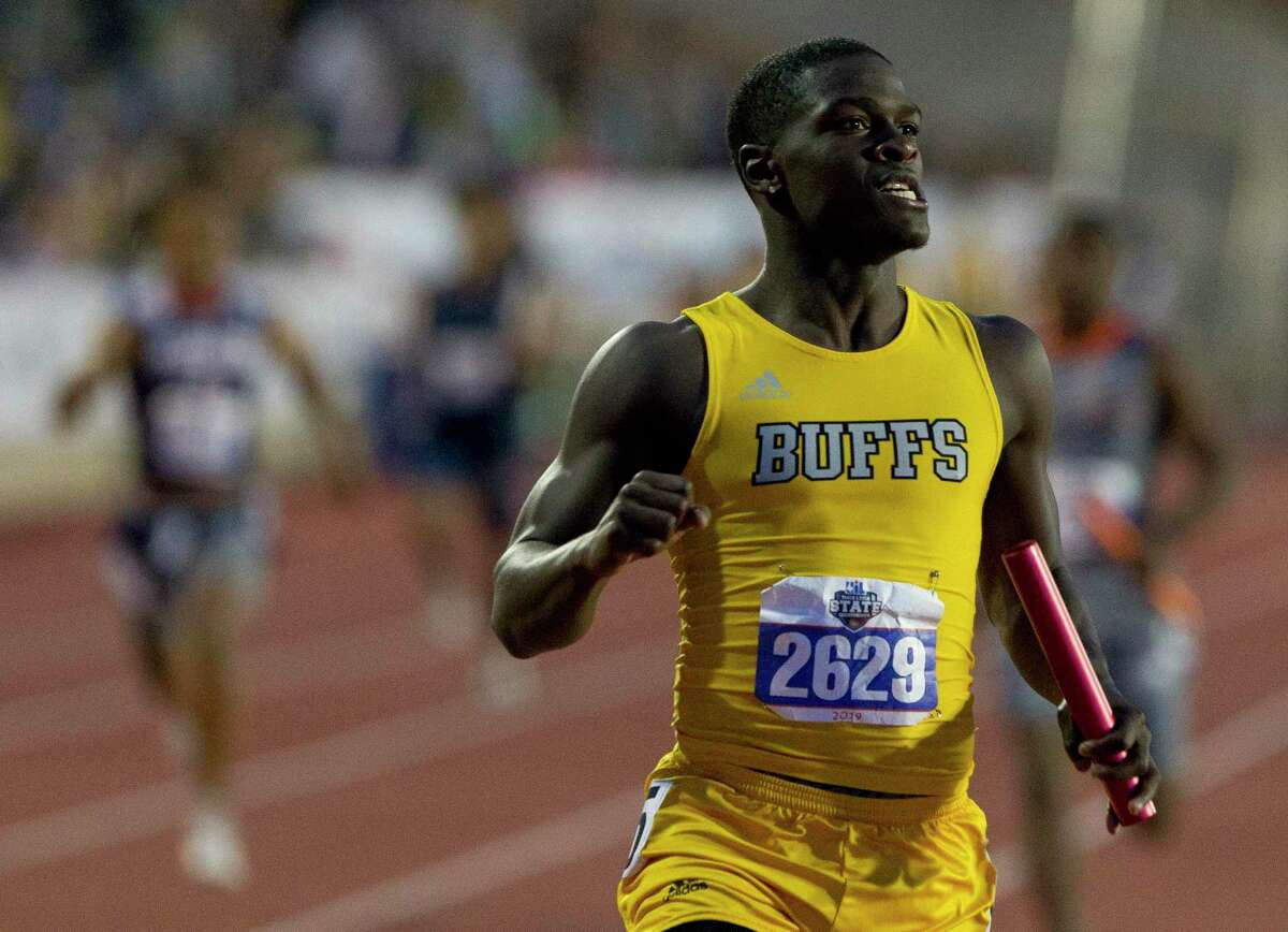 Devon Achane anchored Fort Bend Marshall to the state title in the 800-meter relay in 2019 as a junior.