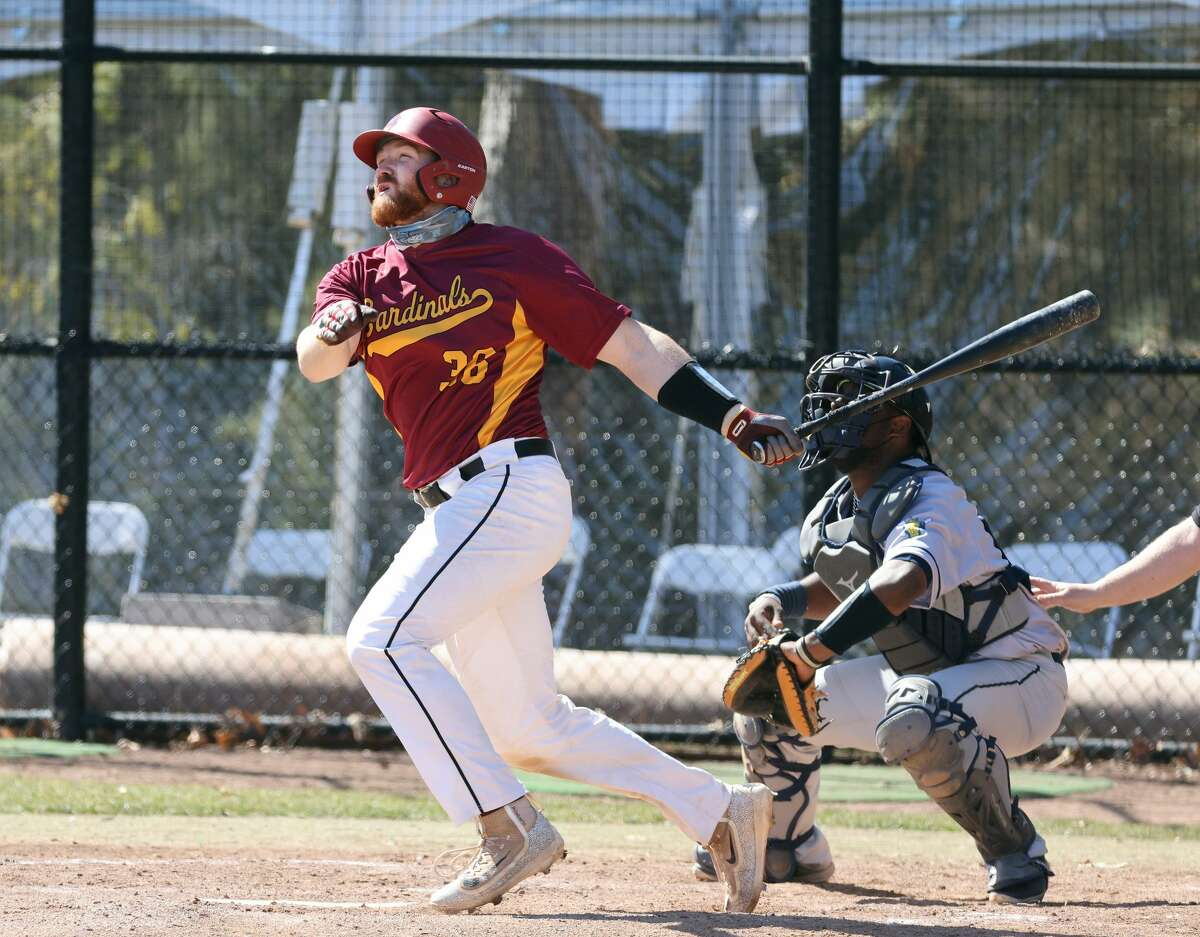CBA graduate Adam Zebrowski of the St. John Fisher baseball team.