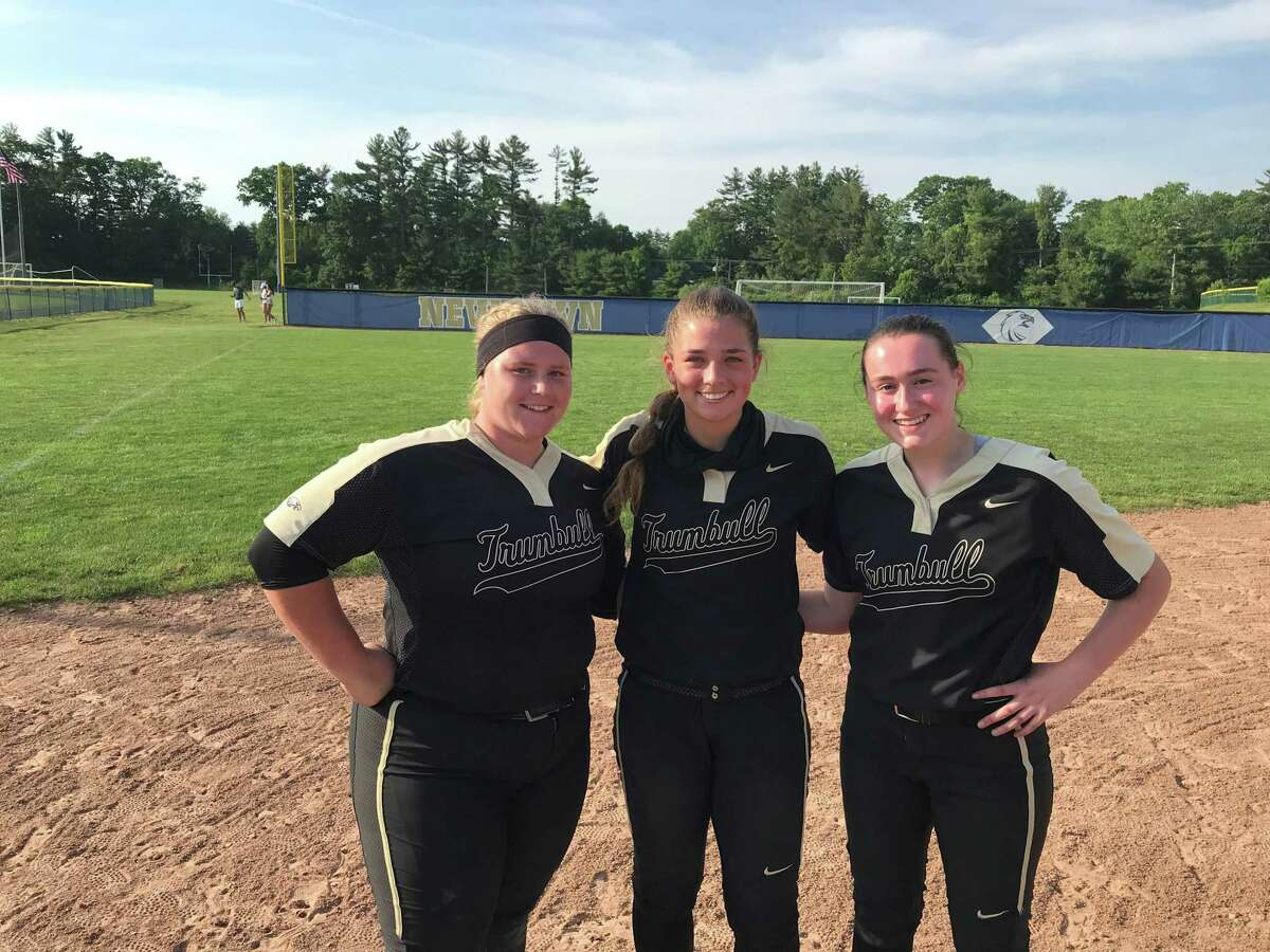 Trumbull's Mackenzie Bruggeman, Cassi Barbato and Jenna Duffy accounted for seven RBIs in the 8-2 victory.
