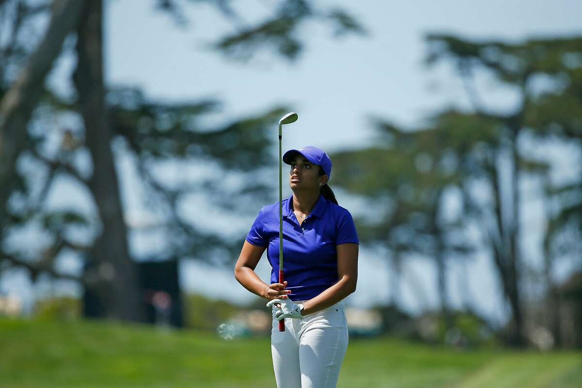 Megha Ganne will play in the final group on Sunday.