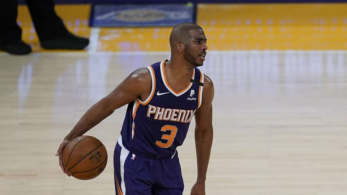 Chris Paul and the Suns host the Nuggets in a Western Conference playoff game at 7 p.m. Monday (TNT).