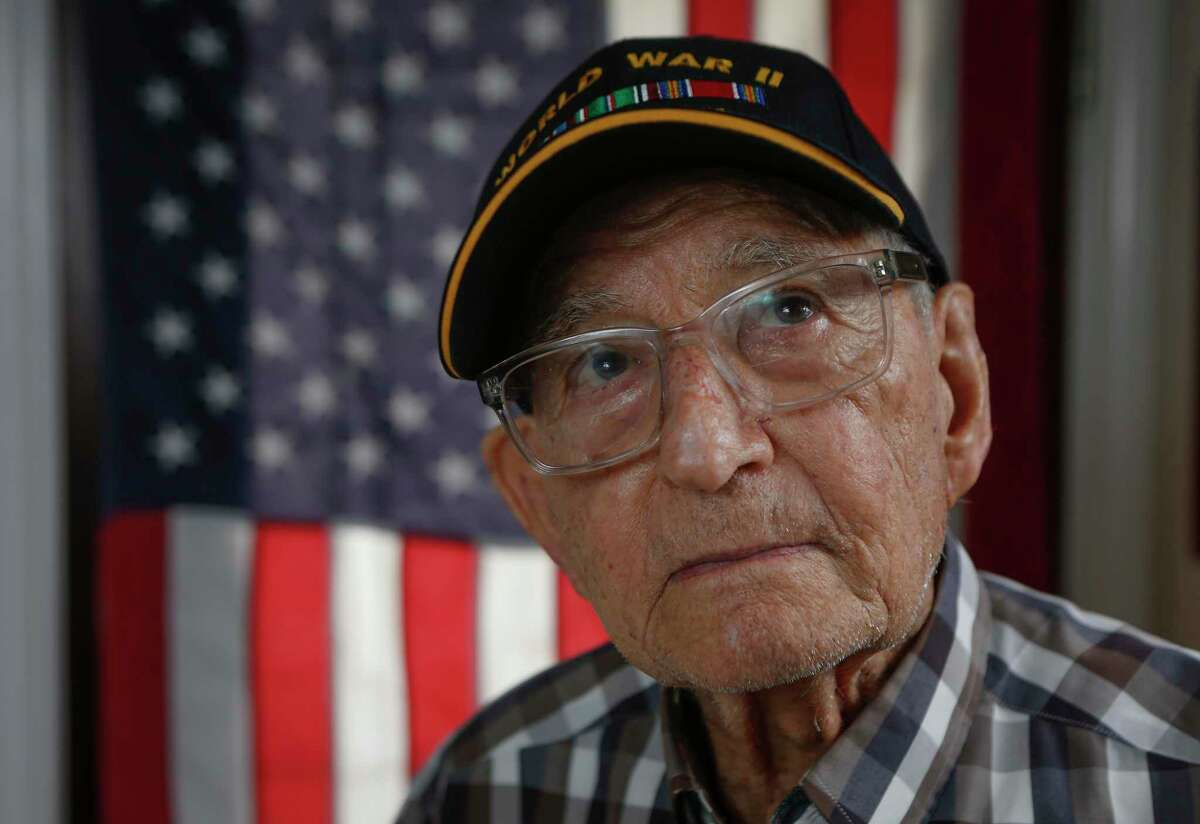 Mario Saladino, World War II veteran who was stationed at Sugamo prison, where Japanese war criminals were held during post-war trials until execution Friday, June 4, 2021, in Pearland.