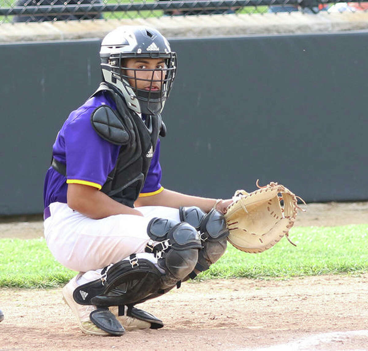 CM catcher Miguel Gonzalez had two hits in the Eagles' Class 3A regional loss Friday at Highland.