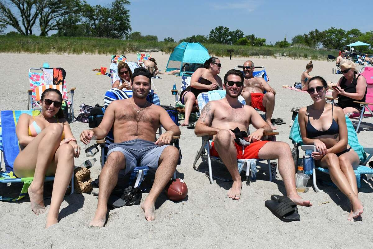 Temperatures soared into the 90s on June 6, 2021. Were you SEEN at Jennings Beach in Fairfield?