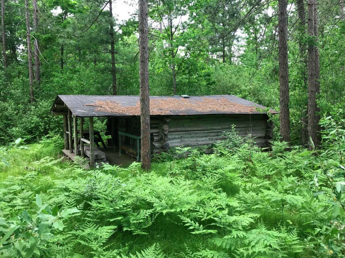 At nearly 100 years old, this facility at the White Pine Valley Recreation Area has been deemed unsafe for visitors and the Mecosta County Parks Commission has recommended it be closed to the public. (Photo courtesy of the Parks Commission)