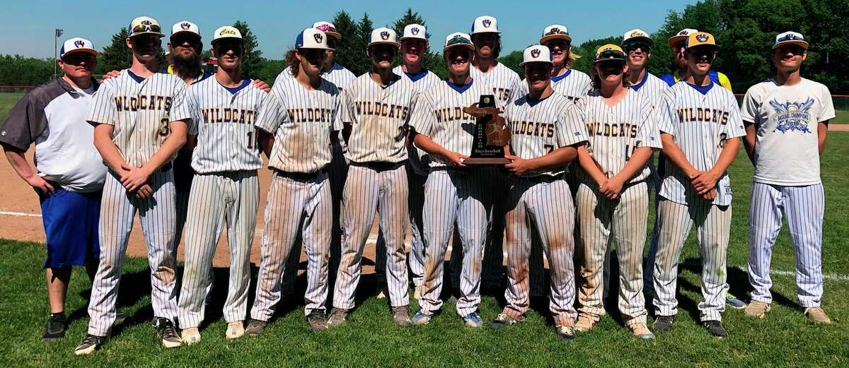 Evart baseball was 2-0 on Saturday to take the district crown. (Courtesy photo)