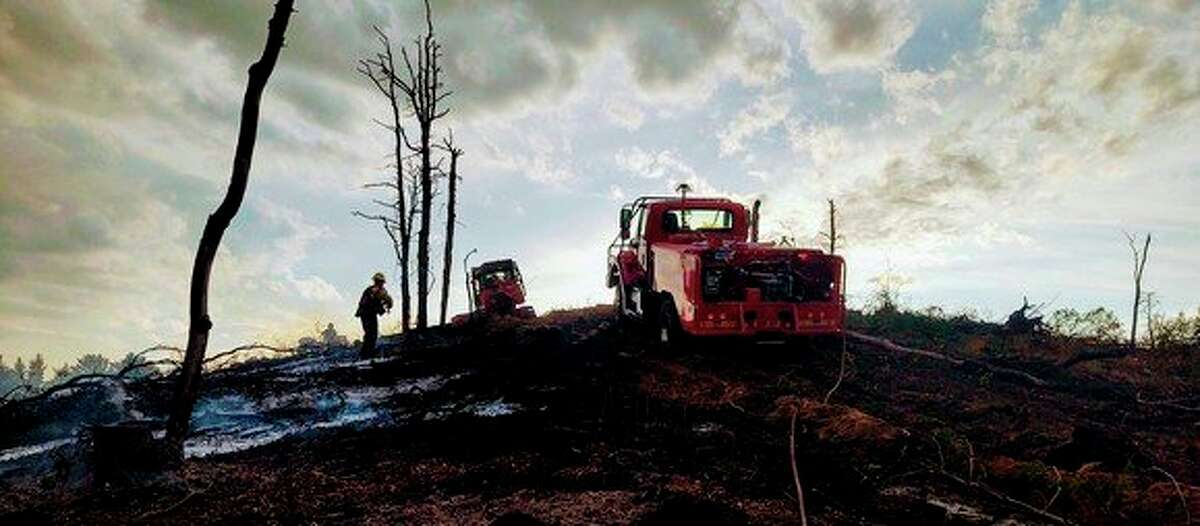 The Michigan Department of Natural Resources is advising people to be aware of the dry conditions that could lead to wildfires. (Courtesy Photo)