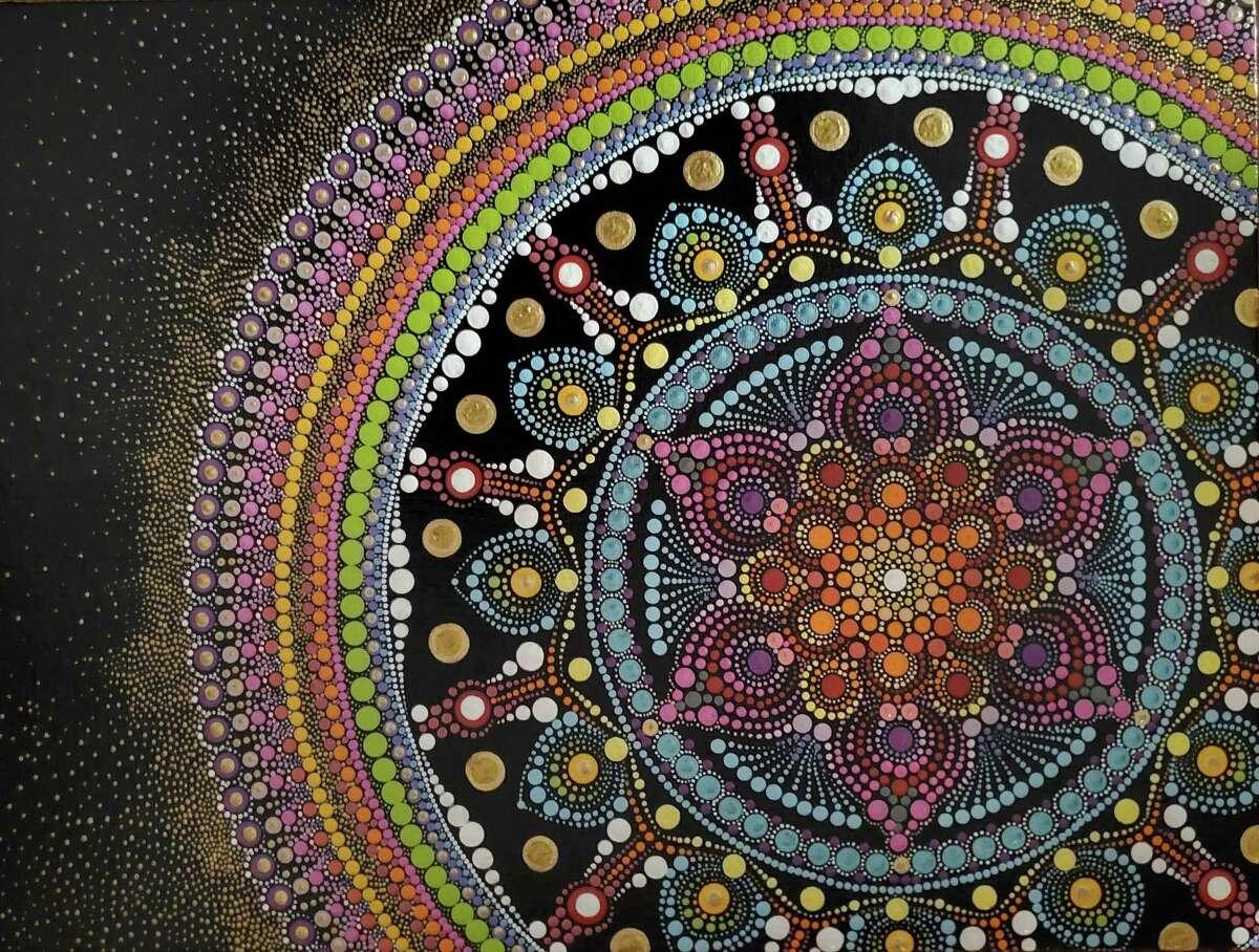 Byrde + the b hosting Faith Vicinanza color meditations exhibit