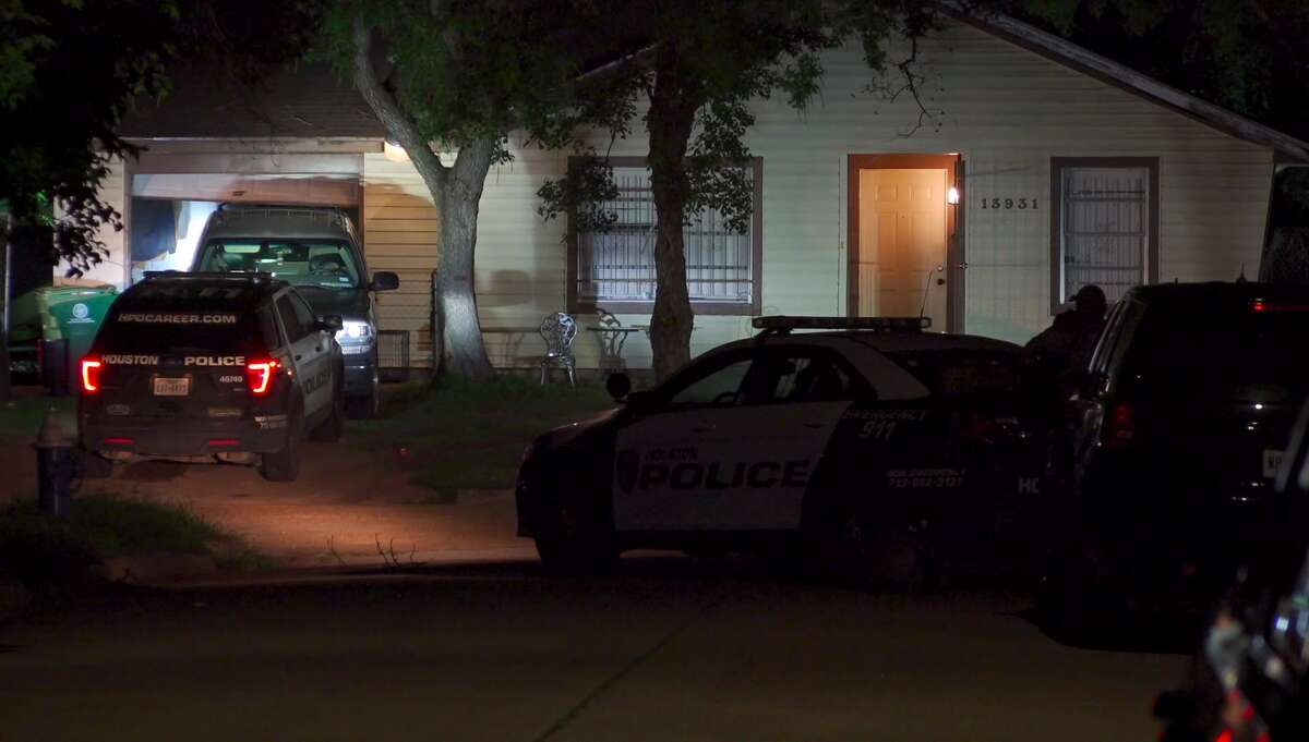 One man was arrested after a nearly four hour standoff with police on Candleshade Lane in southwest Houston.