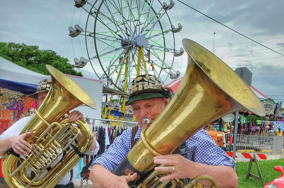 The 20th Tomball German Heritage Festival featured live music.