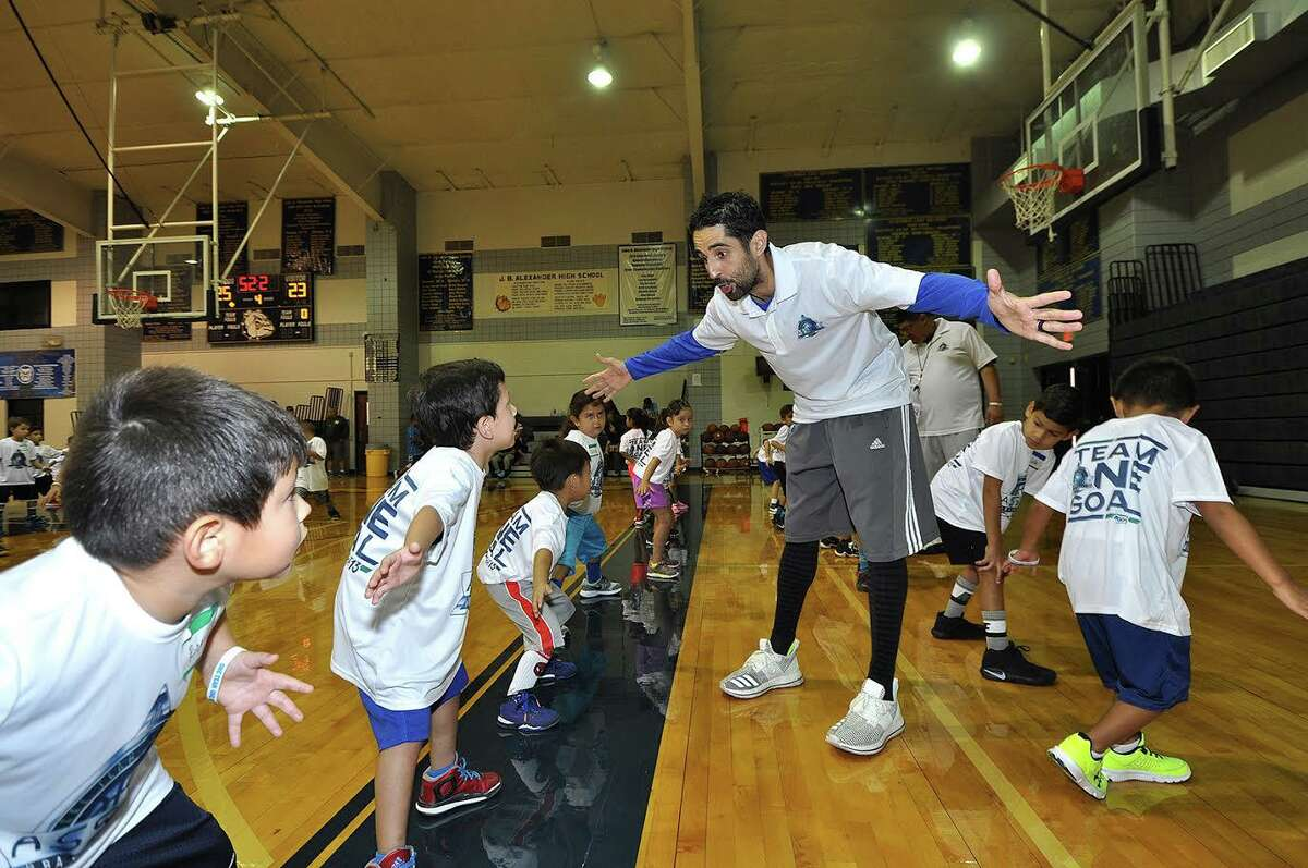 Former NBA All-Star LaMarcus Aldridge tweeted his support for Laredoan Kaleb Canales, pictured, to be a candidate for the open Portland head coaching job on Saturday.