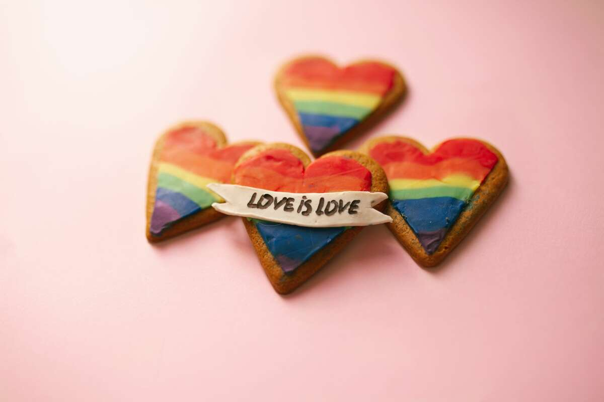 A Texas bakery weathered hateful messages after posting rainbow cookies on social media for Pride Month.