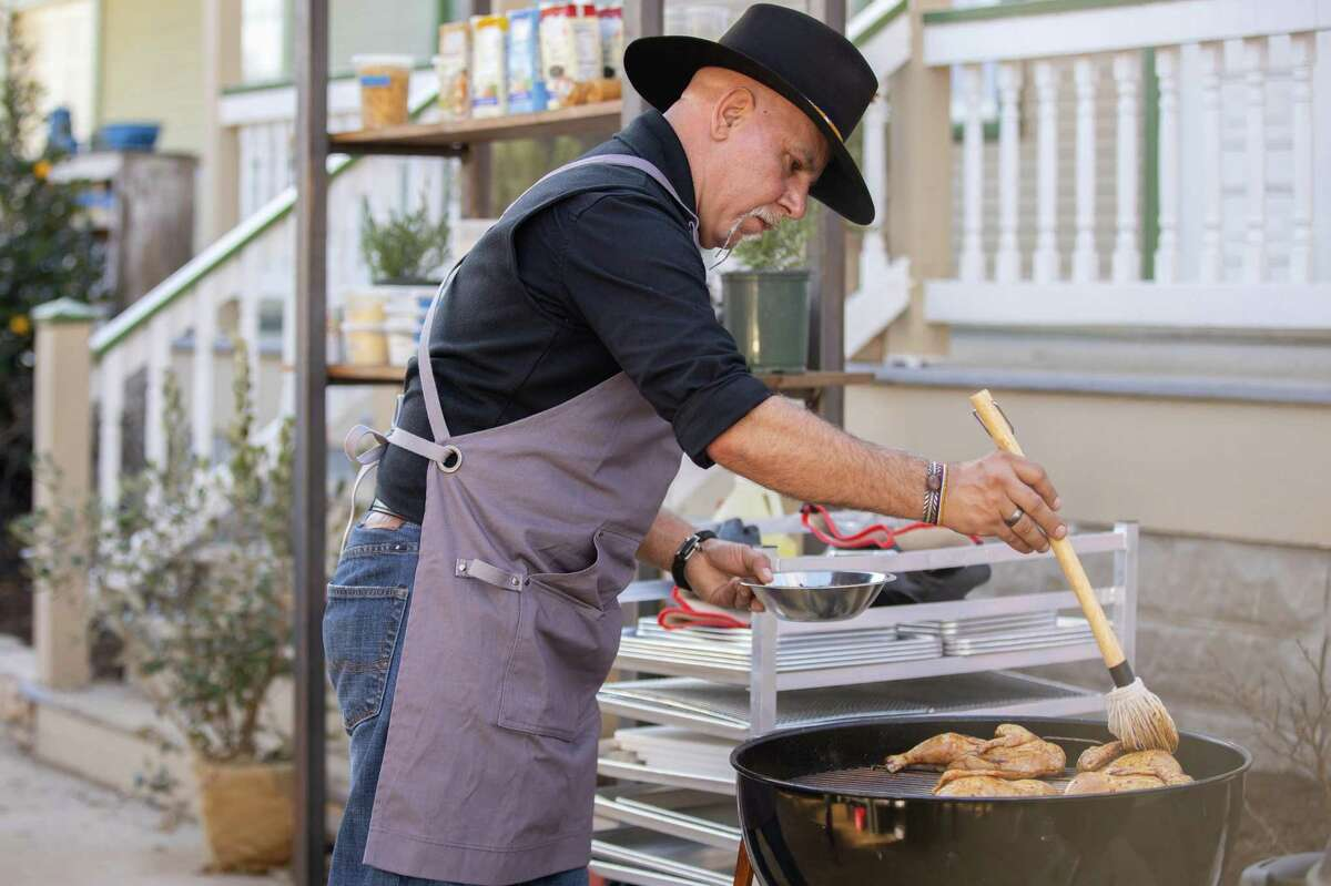"""Ara Malekian, chef/pitmaster of Harlem Road Texas BBQ in Richmond, competed on Food Network's """"BBQ Brawl."""""""