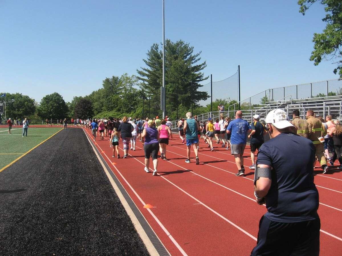 The Raider Run 5K Run/Walk, held by the Torrington High School Alumni Club, was held at the high school June 5.
