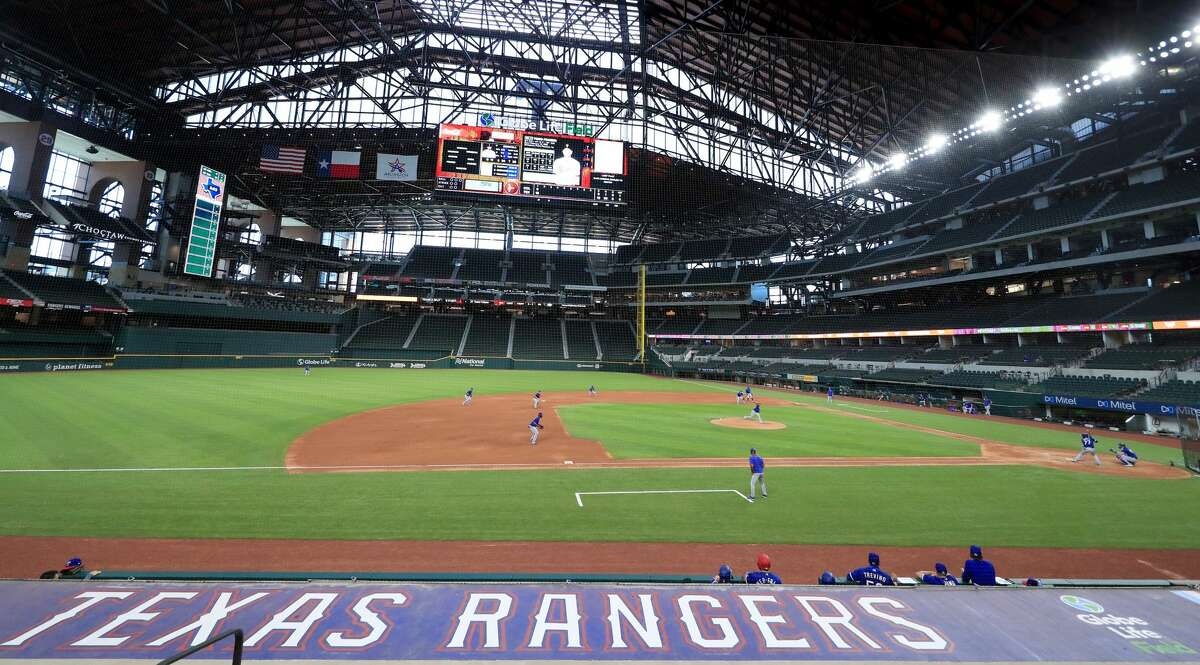 There won't be any sort of LGBTQ celebrations inside the Texas Rangers' Globe Life Field.