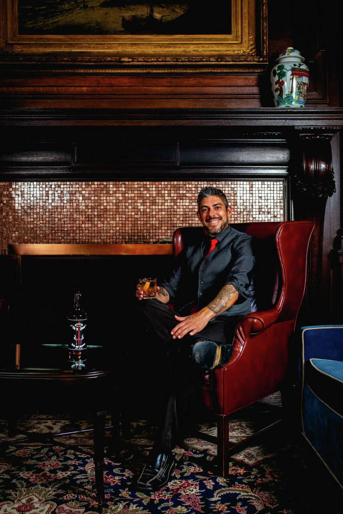 Justin Morales, founder of Up n' Down rock and bourbon.