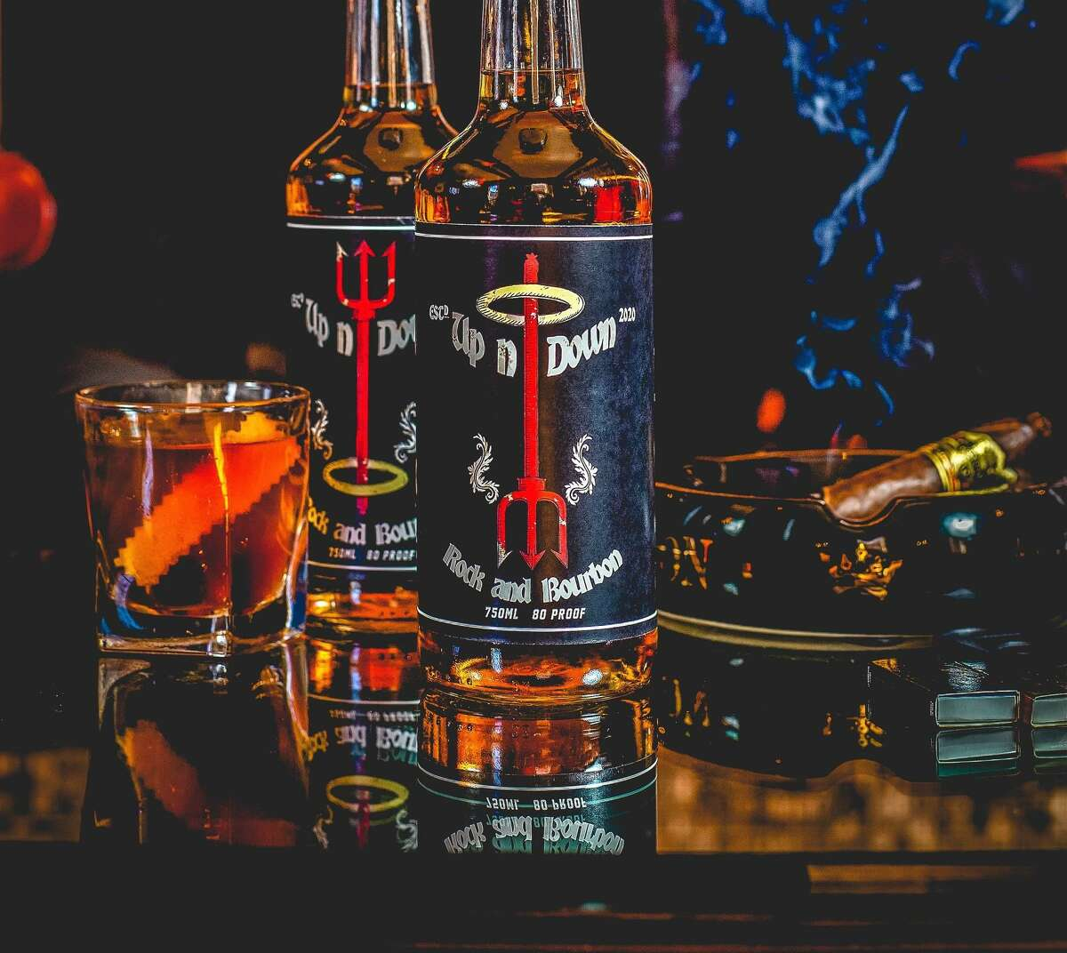 Up n' Down rock and bourbon, founded by longtime CT bar professional Justin Morales.