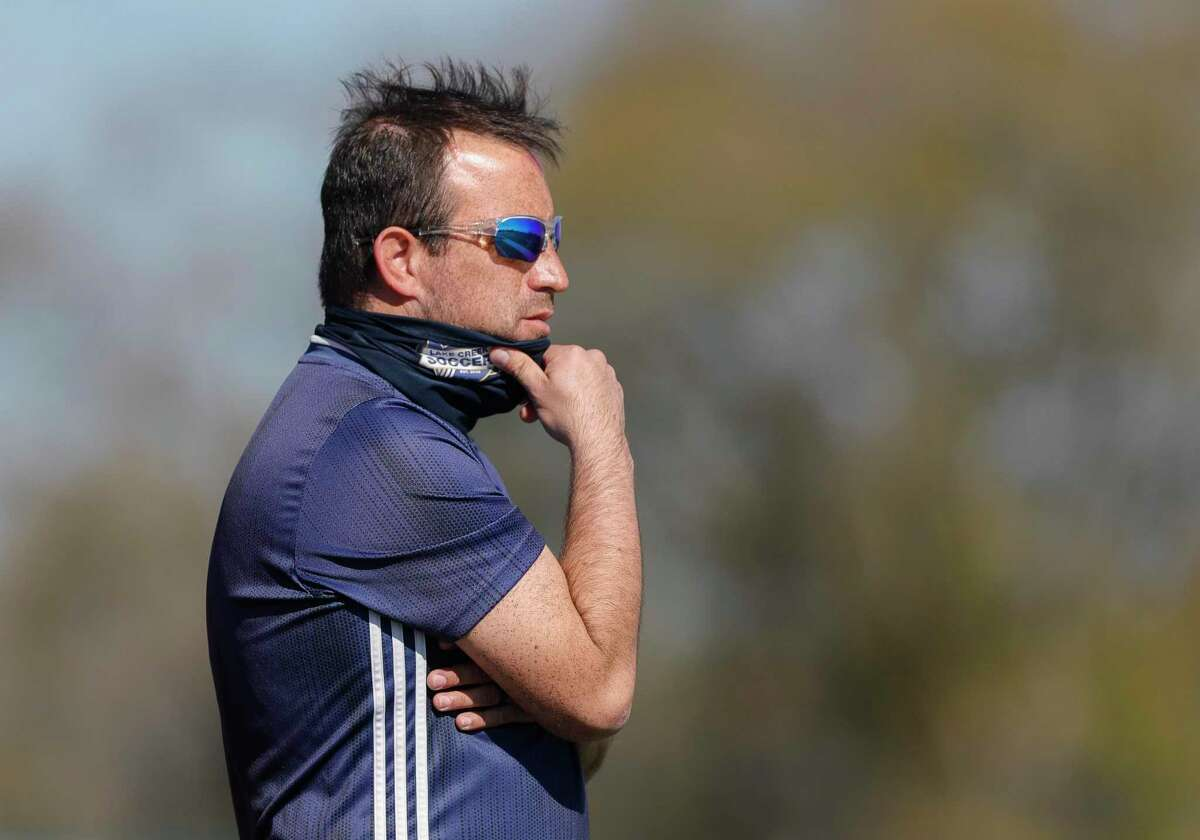 George Hourahan, who led the Lake Creek girls soccer program for three years, is now the coach of the boys team.