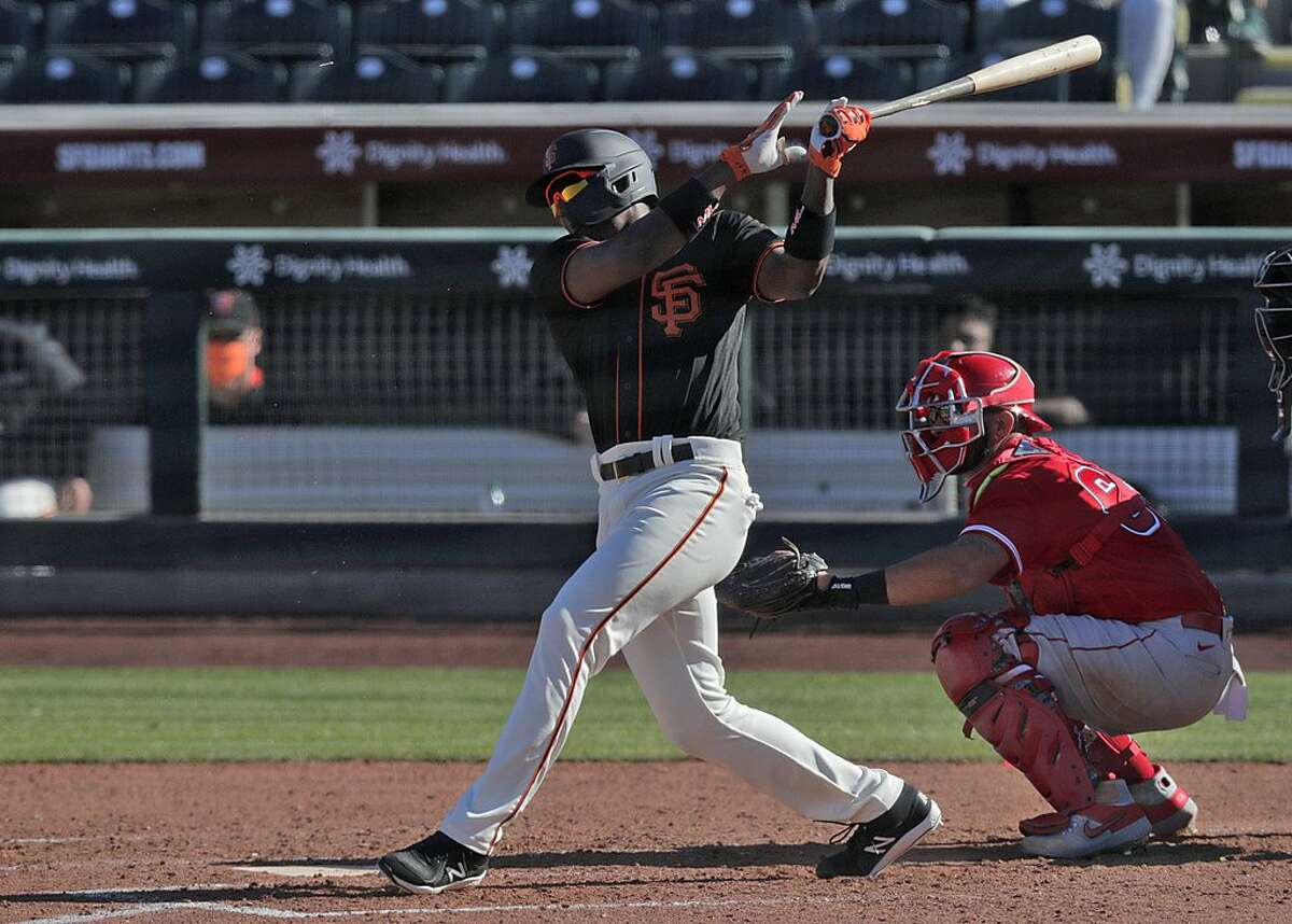 Top prospect Marco Luciano was hitting .136 on May 10 for the Giants' Low-A affiliate in San Jose. Now, he's flirting with .300.