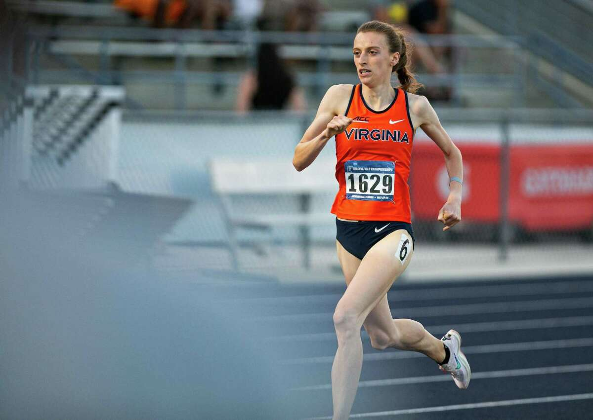 Southbury's Michaela Meyer is the No. 1 overall seed in the 800 meters at the 2021 NCAA Outdoor Track and Field Championships. She will compete in the event at the Olympic Trials.