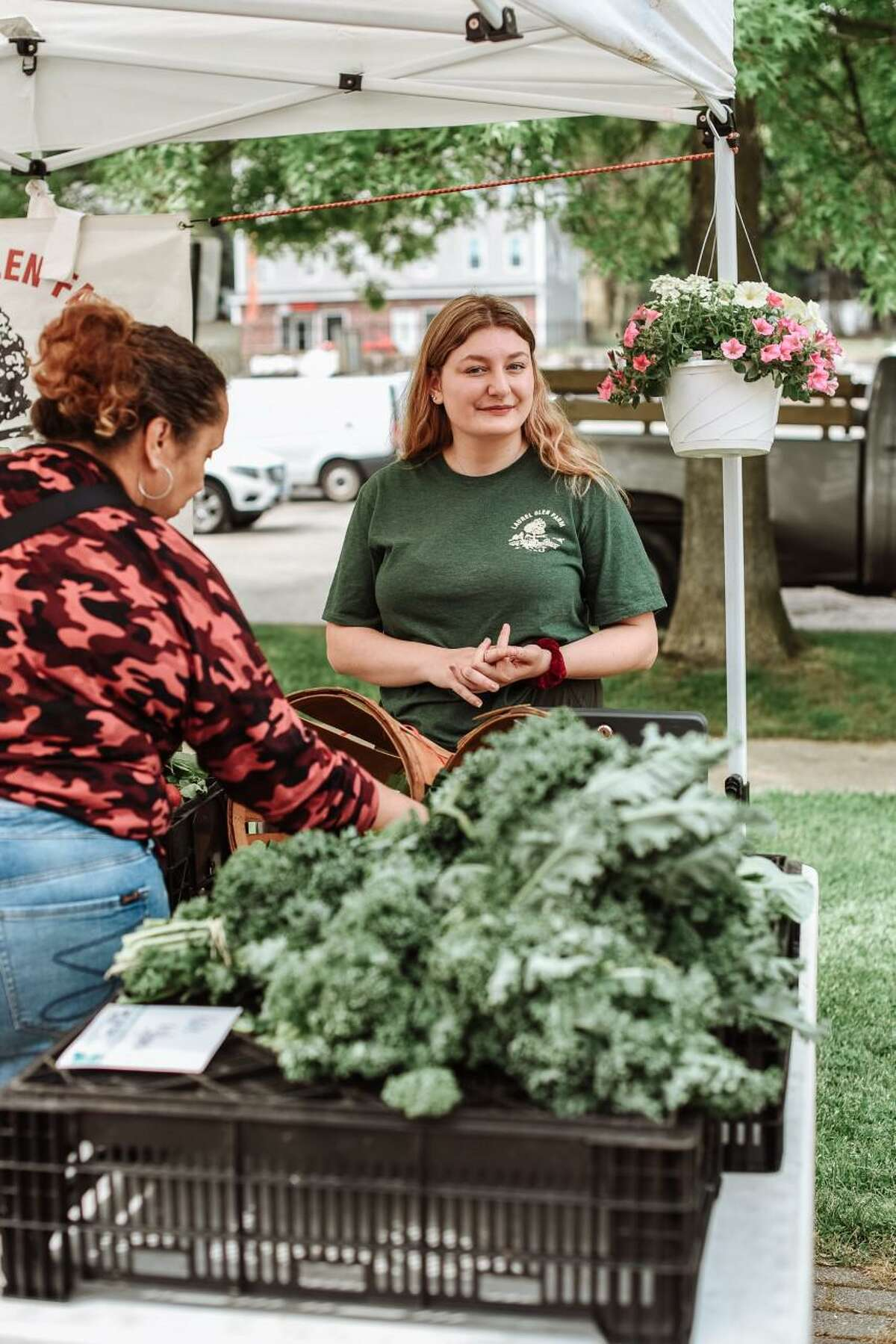 The Shelton Farmer's Market, at 100 Canal St. East in downtown, runs every Saturday from 9 to noon throughout the spring and summer.