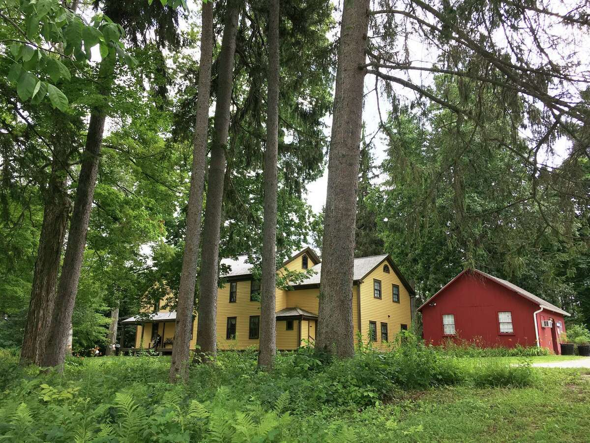 """Herman Melville completed """"Moby-Dick"""" and other works while living with his family at Arrowhead farm in Pittsfield, Mass. The farm is one of six stops on the Berkshire 18th Century Trail.(Richard Selden/The Washington Post.)"""