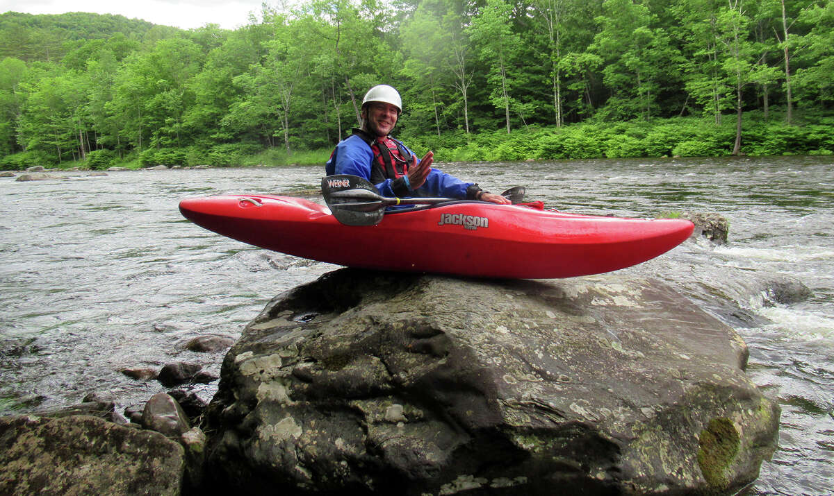 The Deerfield River in Massachusetts, where Times Union outdoors columnist Herb Terns went for a paddle in 2020, is the site of adventure rafting offered by the Crab Apple Whitewater company since 1989. Terns is unaffiliated with the business. (Provided photo,)