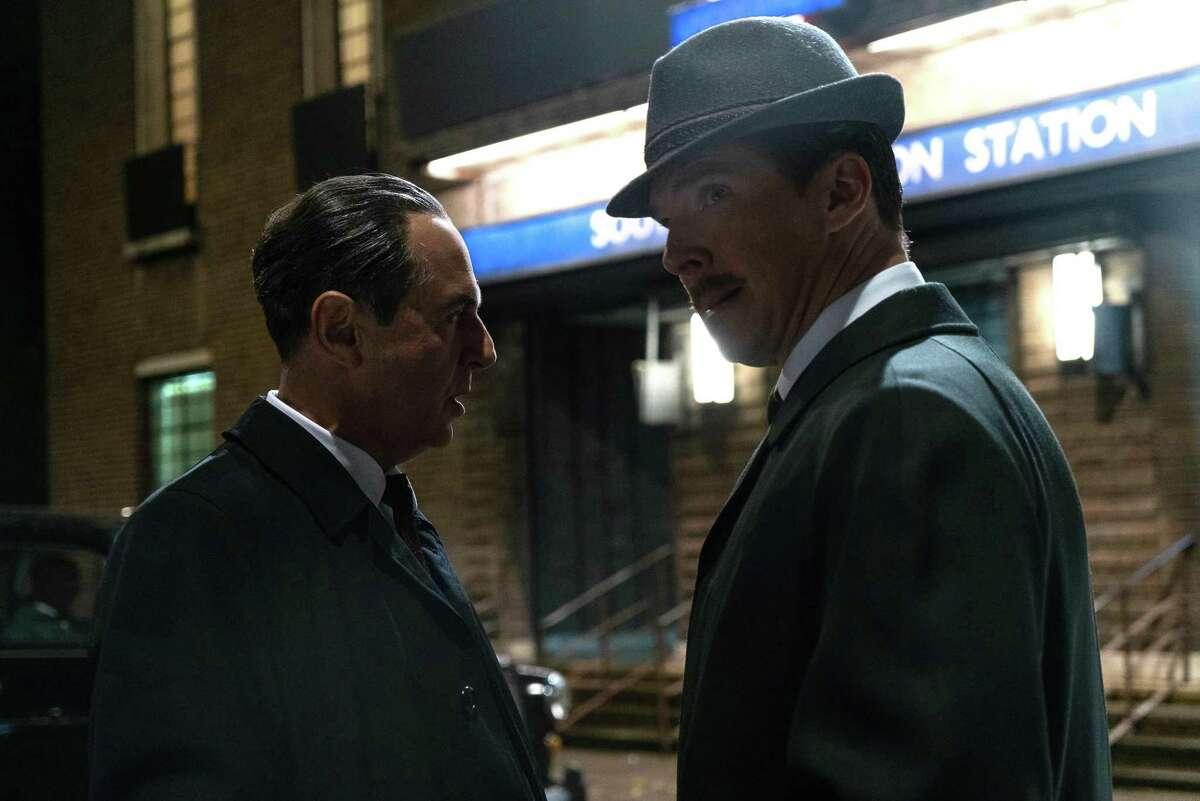 Merab Ninidze and Benedict Cumberbatch in