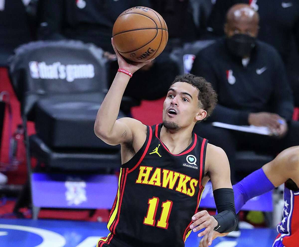 The Hawks are flying high thanks to third-year guard Trae Young, who scored 35 points Sunday in their Game 1 win over the 76ers in the Eastern Conference semifinals.