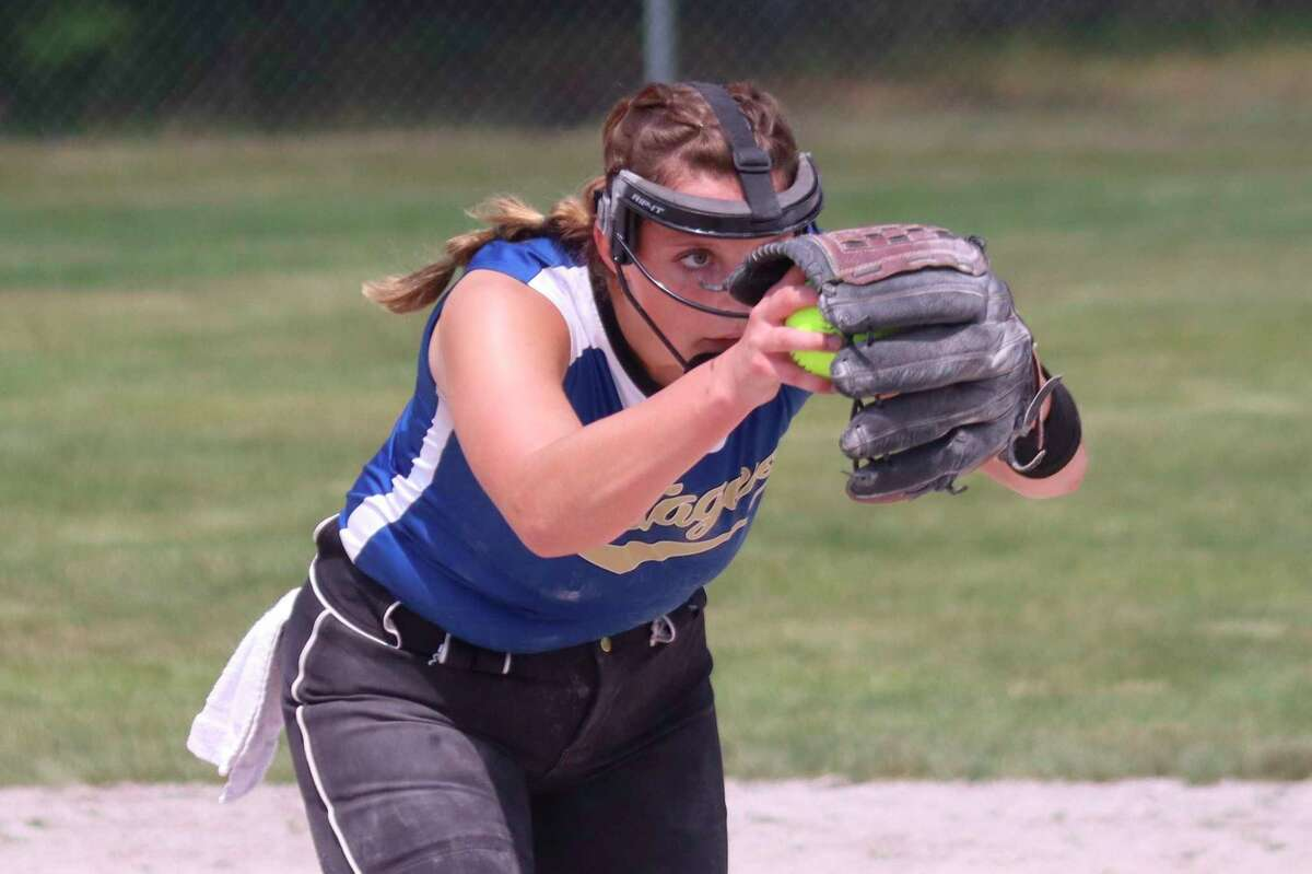 Sophie Wisniski has excelled in all of her sports this year, including softball. (News Advocate file photo)