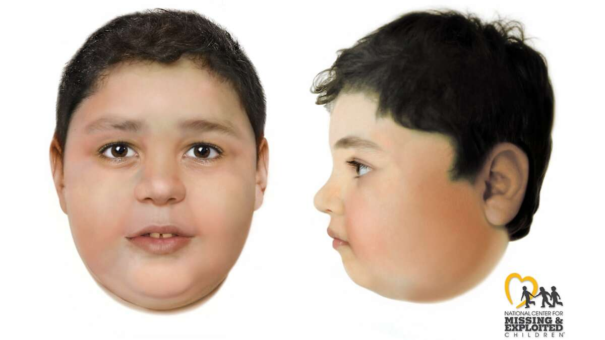 The National Center for Missing and Exploited Children created a rendering of a child found murdered near Las Vegas on May, 28, 2021. Police identified him as 7-year old Liam Husted of San Jose on Monday, June 7, 2021.