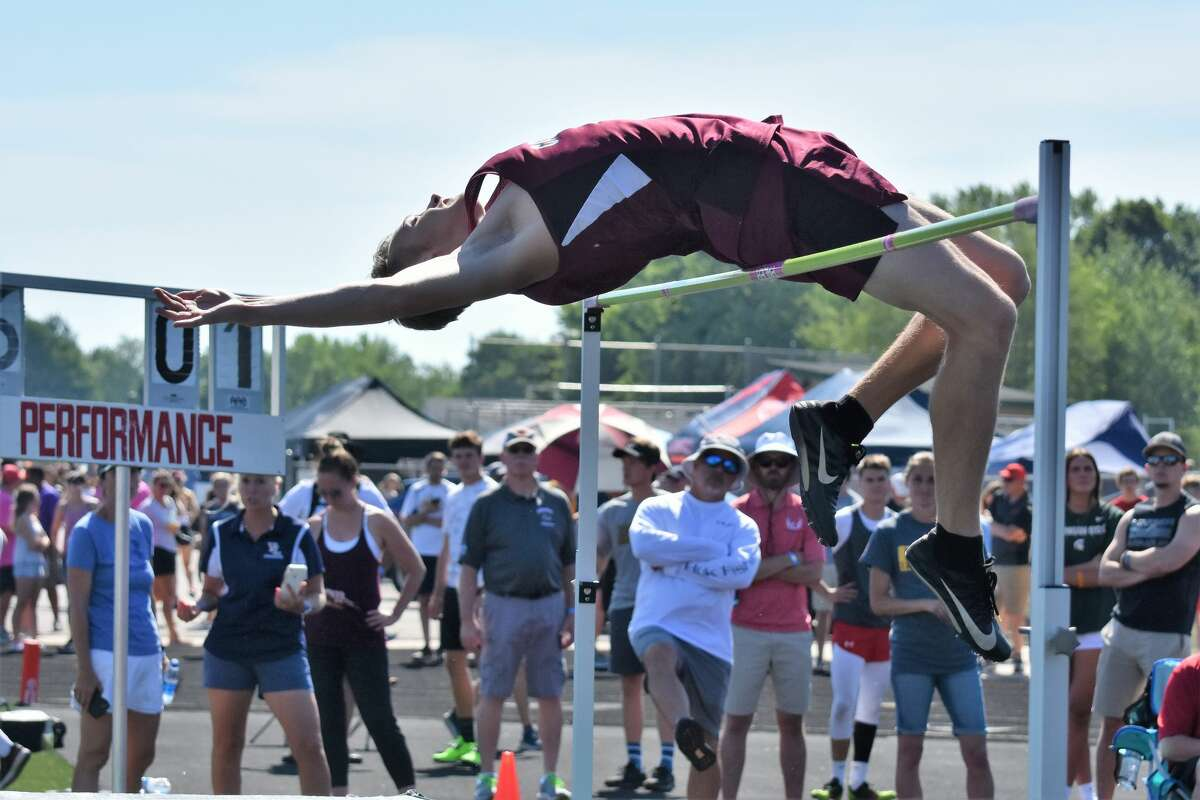 Track and field athletes from the Upper Thumb took their places on the podium at the MHSAA state finals held in West Michigan over the weekend.
