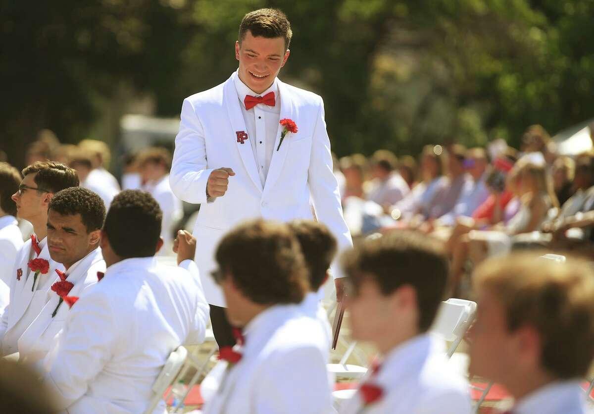 The Fairfield Prep graduation in Fairfield, Conn. on Sunday, June 6, 2021.