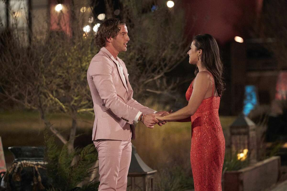 THE BACHELORETTE - 1701 Katie Thurston sets off on her journey to find love with her charm, wit and take-no-nonsense attitude that fans fell in love with during her time on The Bachelor. With the help of former Bachelorettes and mentors Kaitlyn Bristowe and Tayshia Adams by her side, Katie is ready to meet her men; with 30 lucky potential suitors pulling out all the stops, props and moves in hopes of catching her eye before the first rose ceremony. Strap in, its going to be a season like no other on The Bachelorette, airing MONDAY, JUNE 7 (8:00-10:00 p.m. EDT), on ABC. (Craig Sjodin/ABC via Getty Images) LANDON, KATIE THURSTON