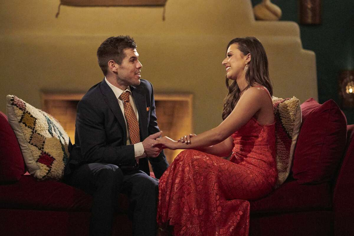 THE BACHELORETTE - 1701 Katie Thurston sets off on her journey to find love with her charm, wit and take-no-nonsense attitude that fans fell in love with during her time on The Bachelor. With the help of former Bachelorettes and mentors Kaitlyn Bristowe and Tayshia Adams by her side, Katie is ready to meet her men; with 30 lucky potential suitors pulling out all the stops, props and moves in hopes of catching her eye before the first rose ceremony. Strap in, its going to be a season like no other on The Bachelorette, airing MONDAY, JUNE 7 (8:00-10:00 p.m. EDT), on ABC. (Craig Sjodin/ABC via Getty Images) HUNTER, KATIE THURSTON