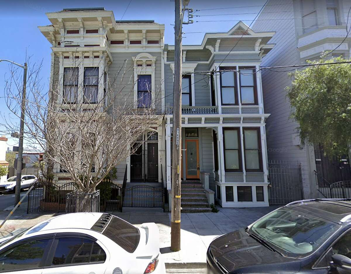 The property at 708 Buchanan St., in San Francisco, is listed in documents for an investigation into Senior Building Inspector Bernard Curran, who is under scrutiny after admitting that he had accepted a $180,000 loan from a person with connections to a local developer.