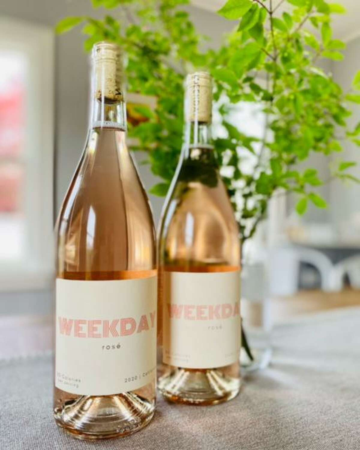 Ryan and Justine Whalen of Branford launched their company Weekday in May. Their company sells low alcohol wine.