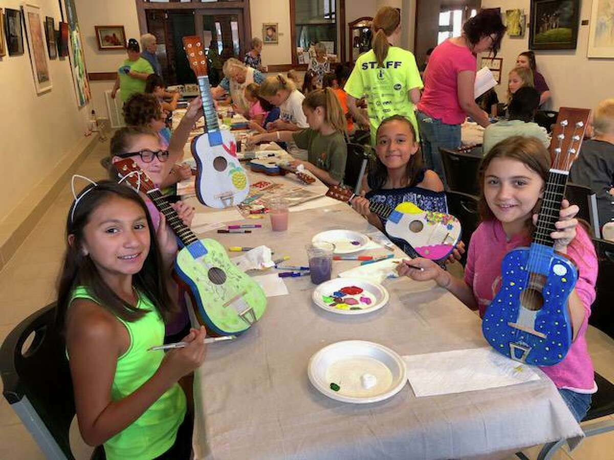 Multi-Arts camp is a specialty camp that takes place at the Owen Theatre. Students ages 7-12 spend one week learning about costuming, stage make-up, vocals, prop/set design and the basics of acting.