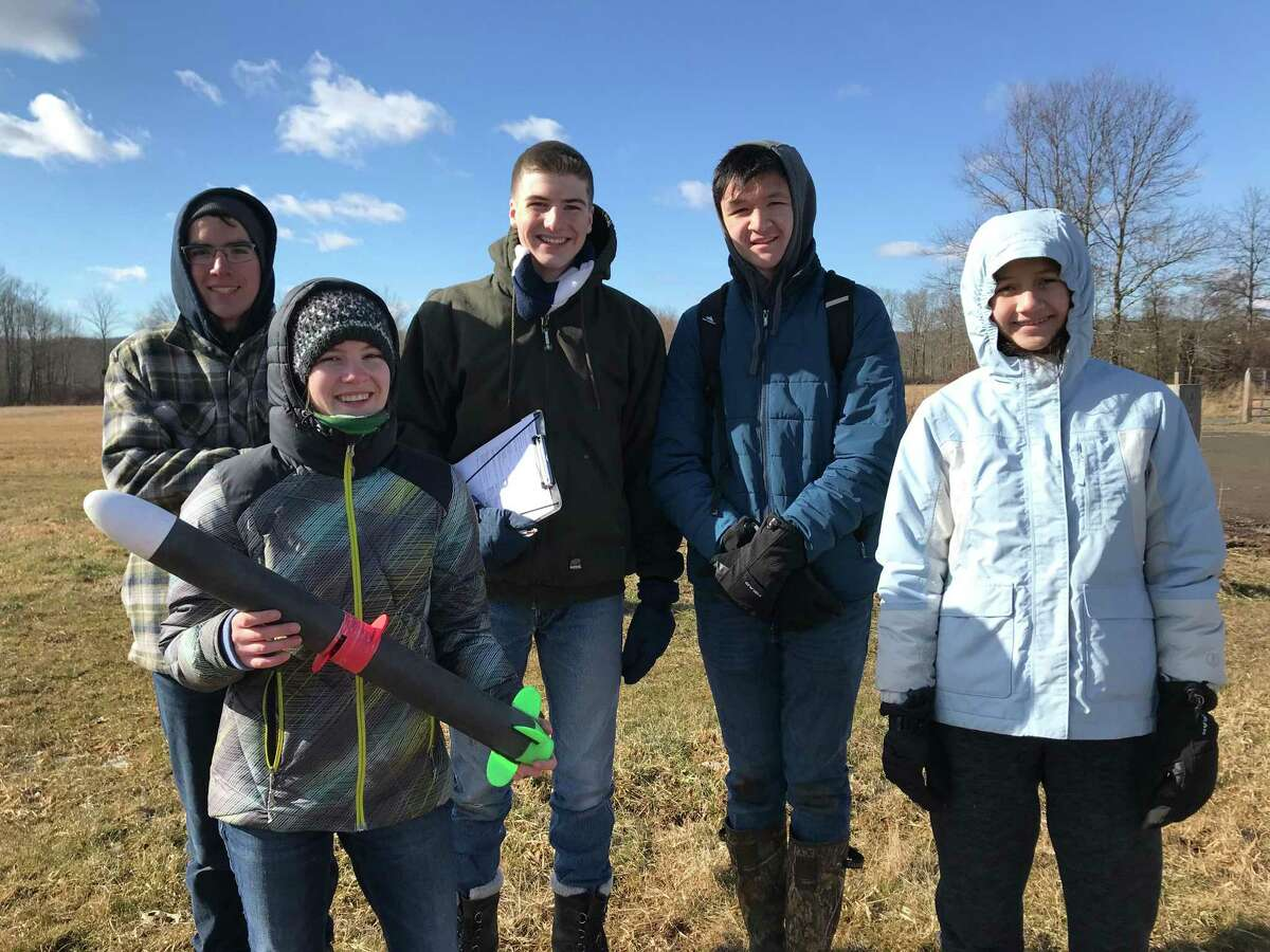 Students from St. Monica's Homeschool are finalists in the American Rocketry Challenge and are preparing for a national fly-off that could earn them a national title.