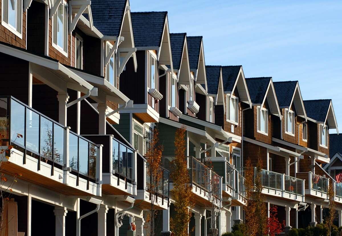Condo homes near Seattle, Washington.