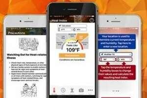 This heat app can warn people of heat dangers.
