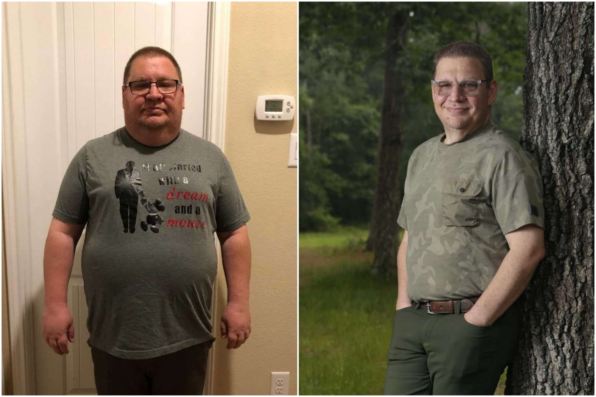 'Sick and tired of being sick and tired,' Conroe man commits to life change, loses 105 pounds