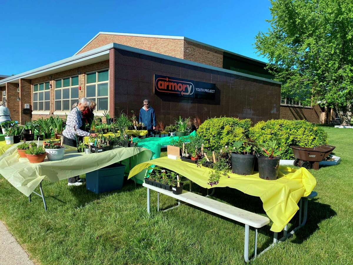 TheSpirit of the Woods Garden Clubplant sale was held at the Armory Youth Project on May 29. (Courtesy photo)