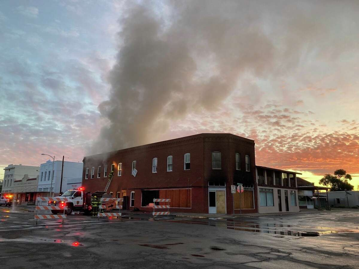 A fire broke out early Friday morning in the Architecture Office of the Judd Foundation in Marfa.