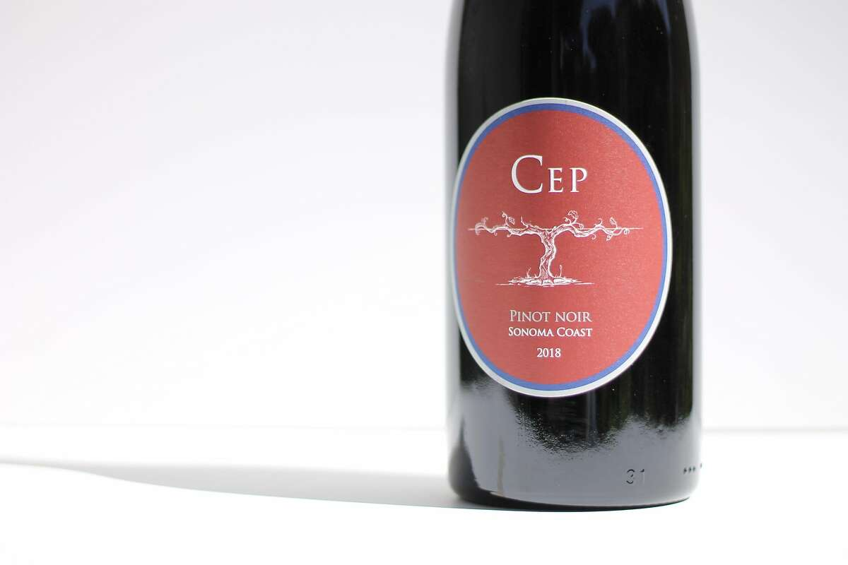 The 2018 Cep Pinot Noir Sonoma Coast, from Peay Vineyards.