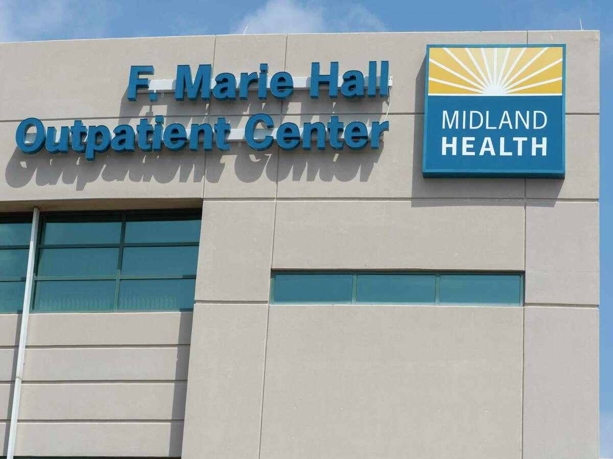 Midland Memorial Hospital West Campus has been renamed 06/08/2021 as F. Marie Hall Outpatient Center. Tim Fischer/Reporter-Telegram