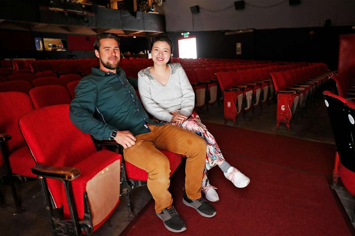 Roger Pincombe and Alice Chu, Saleforce software engineers, poured funds and donations into the restoration of the 96-year-old theater.