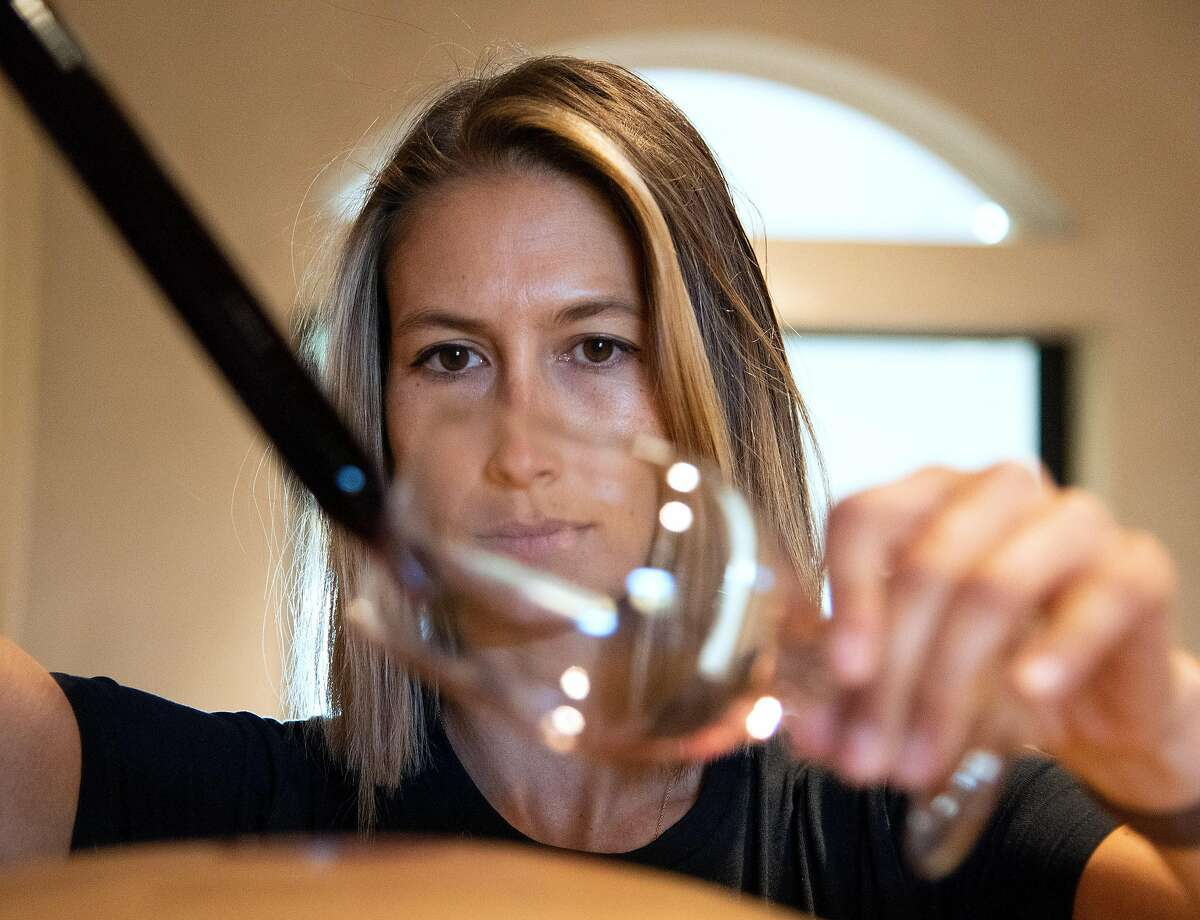 Winemaker Maya Dalla Valle has begun using clay amphora to age some of her wines.