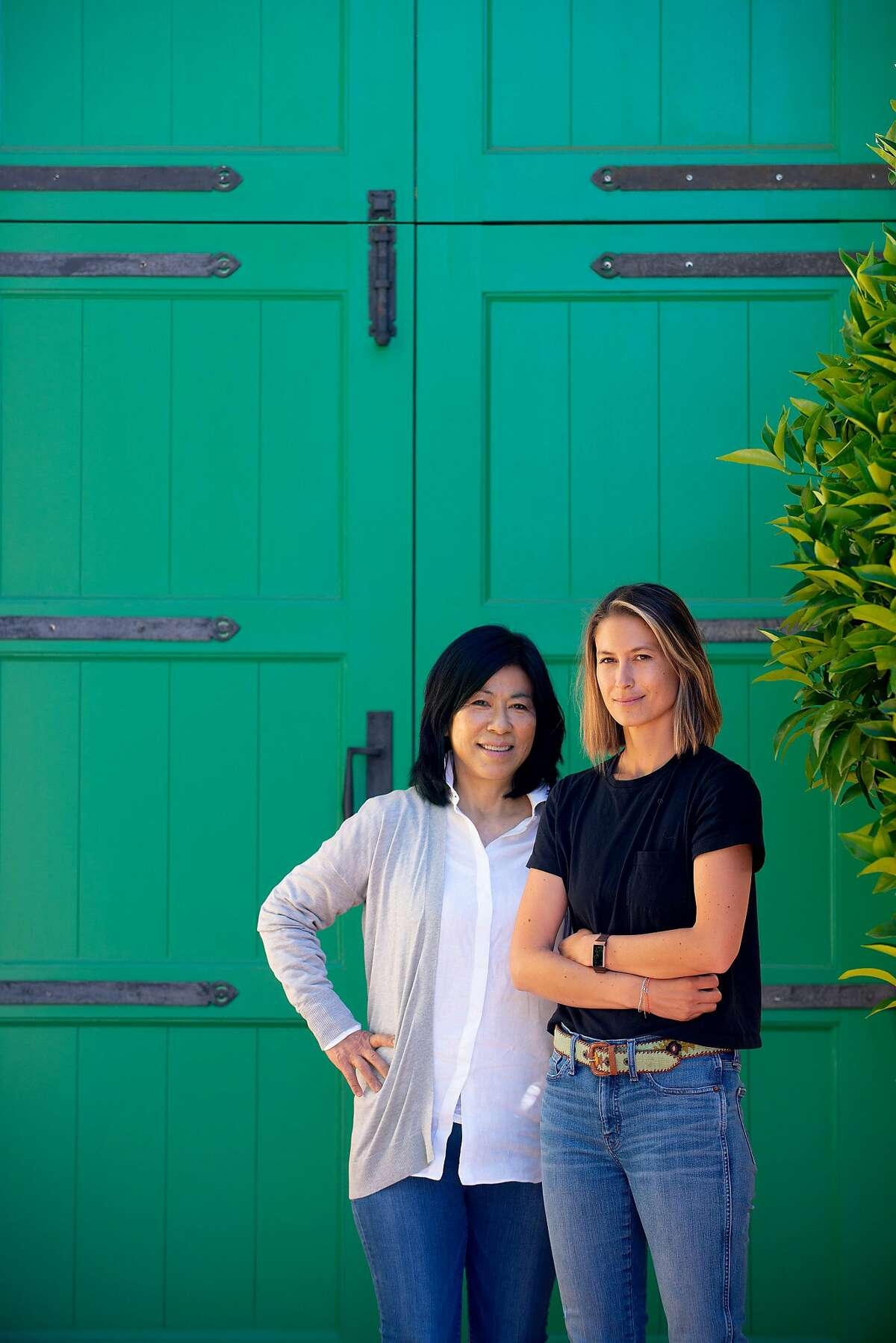 """""""If you want to keep this property, you're going to have to learn how to run it,"""" Naoko Dalla Valle, left, told her daughter Maya."""